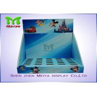 Wholesale OEM Shoes Tapes Counter Top Display Stands Shelf For Disney Toys from china suppliers