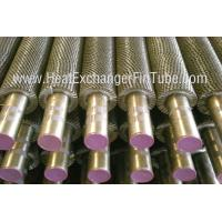Wholesale A213 TP321H Welded Fin Tubes support Solid / Plain / Serrated / Radial Type from china suppliers
