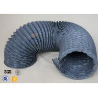 Wholesale Flexible PVC Coated Fiberglass Fabric Air Duct , PVC Fiber Glass Hose from china suppliers