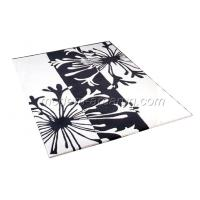 Wholesale White Acrylic Hand-tufted Floral Area Rug, Modern Contemporary Floor Rugs from china suppliers