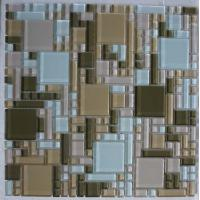 Wholesale Square Glass Mix Stone Tile (NM-013) from china suppliers