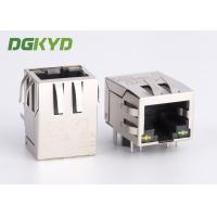 Wholesale Gigabit rj45 connector female 1000Mb Ethernet jack with magnetics Y/G LED from china suppliers