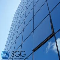 Quality curtain wall Laminated glass sheet 6mm+6mm 8mm+8mm 10mm+10mm for sale
