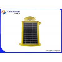 Wholesale LED Solar Powered Aviation Lights 2000 cd Intensity Flashing with Red Color from china suppliers