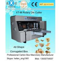 Wholesale Custom Industrial Rotary Cardboard Die Cutting Machine / Die Cut Paper Machine from china suppliers