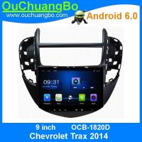 Quality Ouchuangbo car video android 6.0 system for Chevrolet Trax 2014 with  microphone or support external microphone for sale