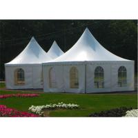 Wholesale Garden Wedding Pagoda Tents , Luxury Gazebo Tents 3m x 3m / 4m x 4m / 5m x 5m from china suppliers