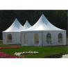 Buy cheap Garden Wedding Pagoda Tents , Luxury Gazebo Tents 3m x 3m / 4m x 4m / 5m x 5m from wholesalers