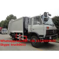 Wholesale HOT SALE!China-made dongfeng 10-14m3 garbage compactor truck, Factory sale best price dongfeng 10-15tons garbage truck from china suppliers