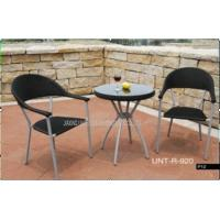 Wholesale Metal Rattan Wicker Rattan Bistro Set For Outdoor Garden / Backyard from china suppliers