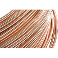 Wholesale Refrigeration Copper Tube , Brazed Steel Pipes 4.76 * 0.65 mm from china suppliers