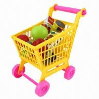 Wholesale 18-piece Mini Shopping Cart Toys, Available in Various Standards from china suppliers