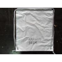 Wholesale PersonalizedPP Promotion  Packaging / White Plastic Drawstring Backpack from china suppliers