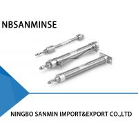 Wholesale Double Acting Single Rod SMC Pneumatic Cylinder Bore Size 6 , 10 , 16 1MPa from china suppliers