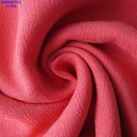 Wholesale F1753 fake linen ramie lady fashion polyester our ways spandex micro moss touch feeling from china suppliers