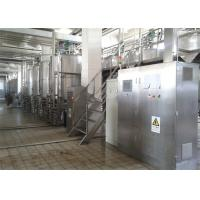 Wholesale Complete UHT Milk Processing Line With PE Bottle Packages 1000LPH For Flavor Milk from china suppliers