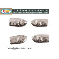 Wholesale Plating Lead Fishing Weights , deep sea fishing weights 2.7-3.6G/PCS from china suppliers