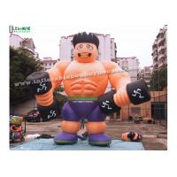Wholesale Anytime Fitness Inflatable Muscle Man Advertising Products For Outdoor Promotions from china suppliers
