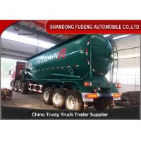 Wholesale 50 Cm Dry Bulk Carriers Bulk Cement Tanker Trailer , Cement Tank Trailer from china suppliers