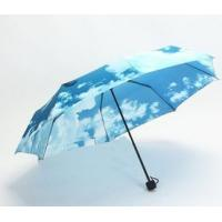 Wholesale China 2016 Lady's Fashionable Digit Printing OEM design 2 folded Umbrella from china suppliers
