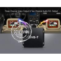 Wholesale HD DVB-T Car Digital TV Receiver with 2 Dibcom tuners active amplified antenna from china suppliers