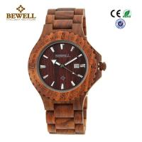 Wholesale Beautiful Unique Men Wooden Watches , Natural Wood Watches Single Calendar from china suppliers