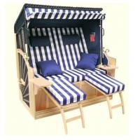 Wholesale All Weather Waterproof Roofed Wicker Beach Chair & Strandkorb For Garden from china suppliers