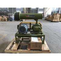 Wholesale 1.5KW-15KW BK Type Three Lobes Roots Blower Of Army Green With Low Noise Economical Energy Consumption from china suppliers