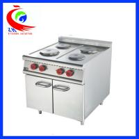 Wholesale 900 series Cooking Equipment Stainless Steel Industrial 4 Burner Electric Cooker with Cabinet from china suppliers