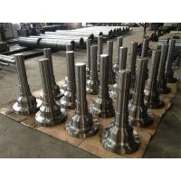Wholesale Forged Forging Steel CNC machined Turned Turning Machining Milling Spindles Shafts Ends Heads from china suppliers