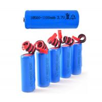 Wholesale Steady Performance Electric Shaver Battery Pack With 1100mah Capacity , 1S1P 3.7V from china suppliers