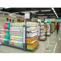 Wholesale Customizable Convenient Washing Lotion Shelf , Glass Cosmetic Display Shelves from china suppliers