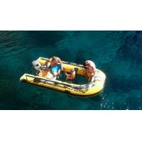 Wholesale Plastic Canoe Clear Bottom Inflatable Boat , Transparent Fishing Boats 10 Hp Power from china suppliers