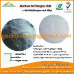 Wholesale Insulation Materials,Aluminum Fiberglass Cloth Fabric 200g/M2 Fiberglass Fabric from china suppliers