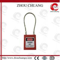 Wholesale G31 PA Body Stainless Wire Steel Cable Shackle xenoy Padlock from china suppliers