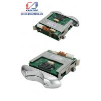 Quality RS 232 Hybrid Half Insert RFID Card Reader / Manual Insert Card Reader For Kiosk for sale