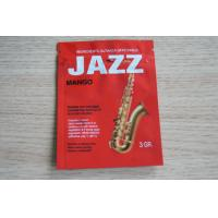 Wholesale 3g Red JAZZ Potpourri Herbal Incense Packaging with Zipper / Tear Notch from china suppliers