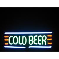 Wholesale Energy Saving Commercial 3.8W IP44 Waterproof Neon Beer Signs 120V / 240V from china suppliers