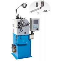 High Efficiency Wire Bending Machine , Belleville Spring Coiling Machines With 2 Axis