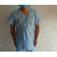 Wholesale SPA Beauty Disposable Sauna Gowns / Disposable Kimono Suits Non Woven Material from china suppliers
