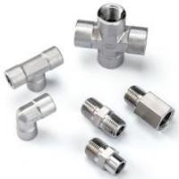 "Wholesale 1/8"" - 1"" Instrumentation Pipe Fittings 6000PSI / 10000PSI Double Ferrule Tube Fittings from china suppliers"