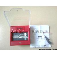 Quality fire alarm emergency break glass with waterproof cover,more long lifespan for sale
