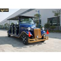 Wholesale Aluminum Chassis Classic Golf Cart Shuttle Bus With Roof For Scenic Using from china suppliers