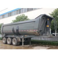 Wholesale 3 Axle 24CBM 24M3 dump trailer 40 Tons U-Shape Tipper Semi Trailer for BAUXITE Transport. from china suppliers