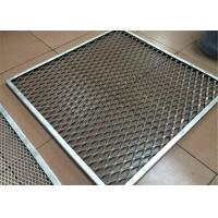 Wholesale Aluminum Metal Mesh Ceiling Panel Akzo Nobel Powder Coating Aluminium Security Mesh from china suppliers