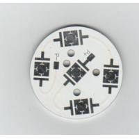 Wholesale 1-4Layers Round 3.0 OZ / 6 OZ White 4 Layers Aluminium Base Metal Core Led PCB Fabrication from china suppliers