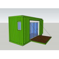 Quality Removable Prefab Container House Modified Shipping Container Homes Easy Accommodation for sale