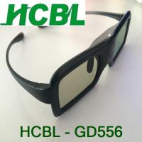 Wholesale Lightweight Universal DLP Active Shutter 3D Glasses With Viewing Angle Left And Right 45° from china suppliers