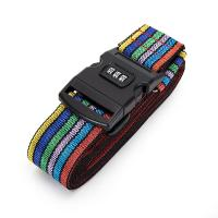 Wholesale Cross Travel Suitcase Strap Safe Belt Strap Luggage Strap Luggage belt from china suppliers