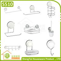 Wholesale Iron Wire Wall Mounted Sucker Bathroom Accessories from china suppliers
